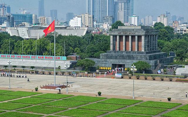 Quảng trường Ba Đình - Lăng Bác: Du lịch Hà Nội